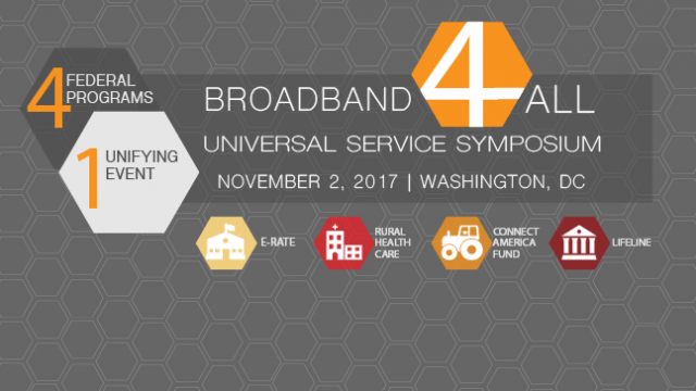Register for Universal Service Symposium