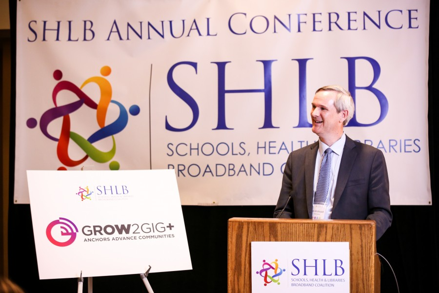 John Windhausen, SHLB Coalition's Executive Director, at Grow2Gig+ Event